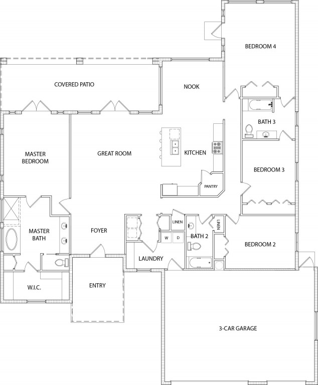 Woodlands 2644 Floorplan