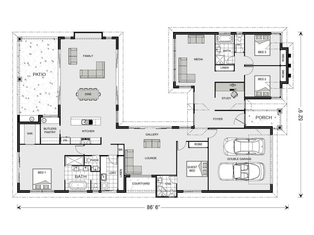 Mandalay 2895 Floorplan