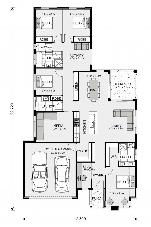 Coolum 225 Floorplan