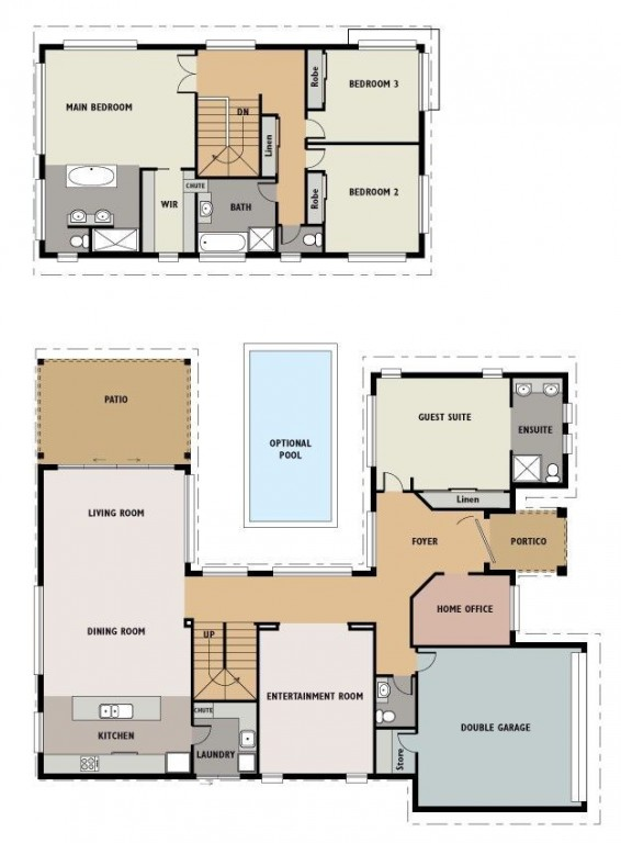 Sanctuary 2950 Floorplan