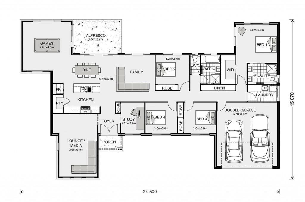 Kingaroy 255 Floorplan