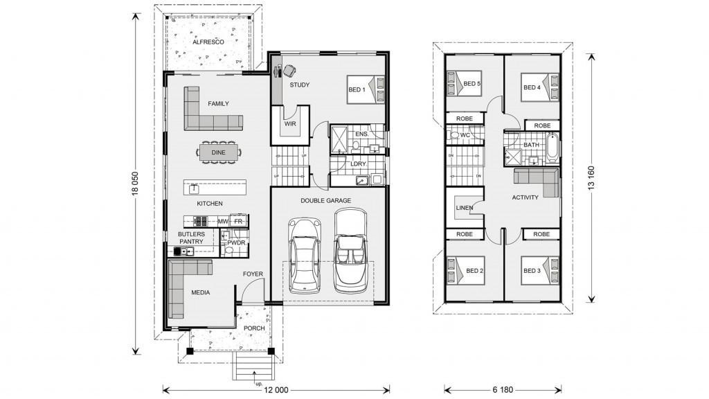 Regatta SL 264 Floorplan