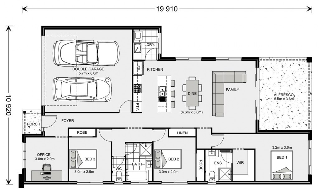 Melville 187 Floorplan