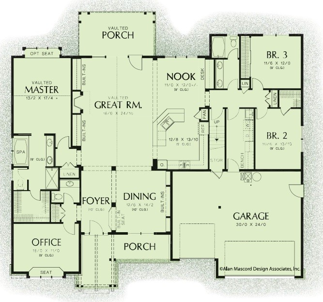 Country 2595 Floorplan