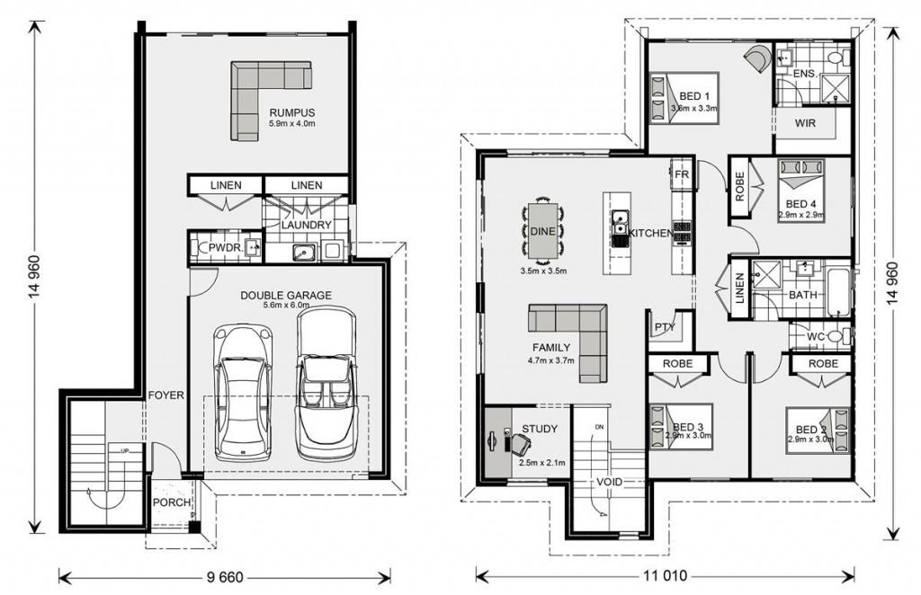 Regatta SL 234 Floorplan