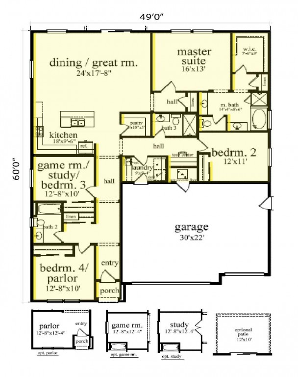 Express 2122 Floorplan