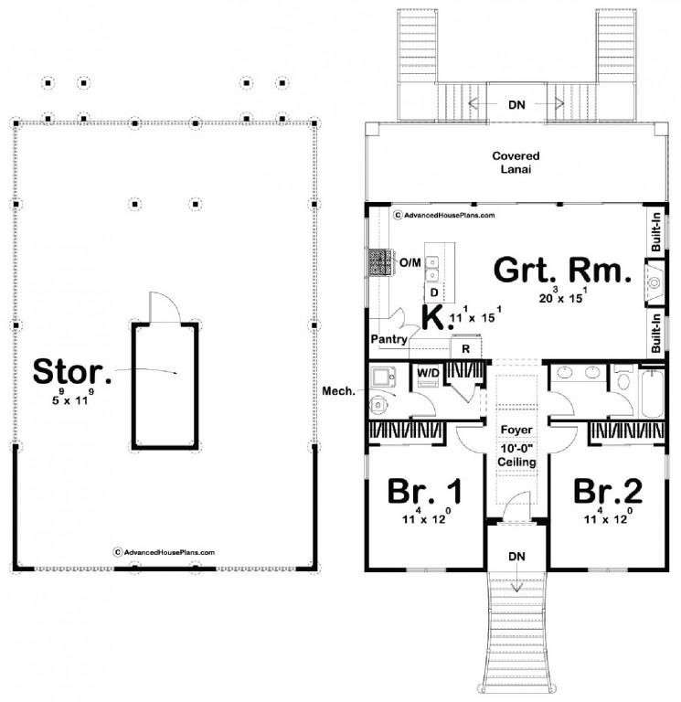 Marco Island 1064 Floorplan