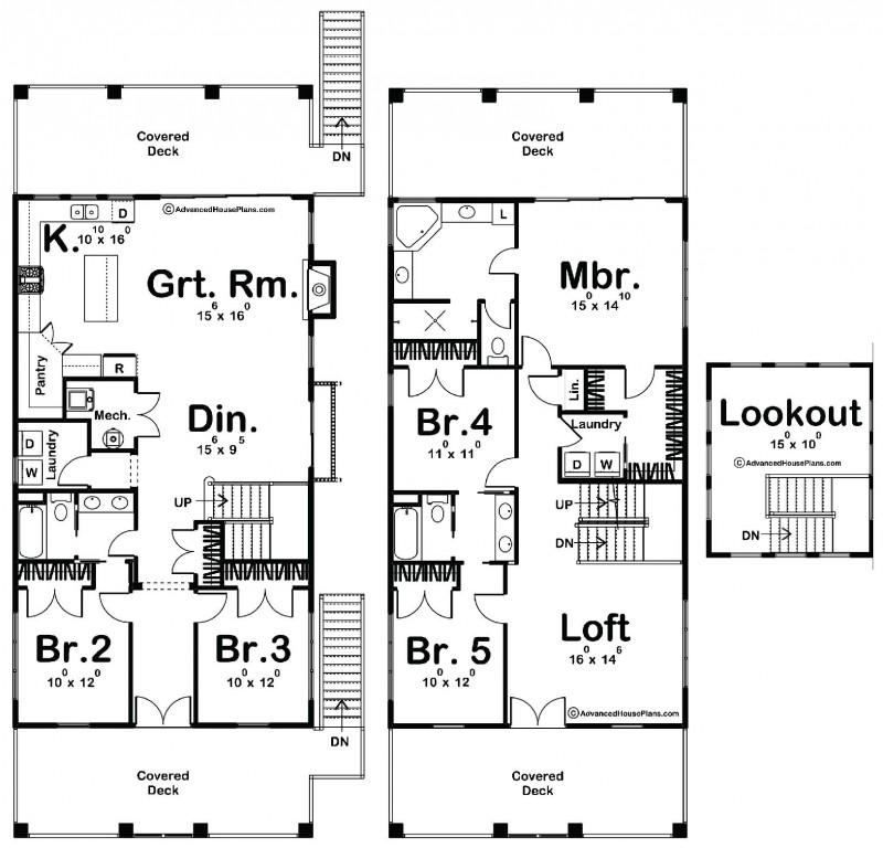 Tiger Beach 2814 Floorplan