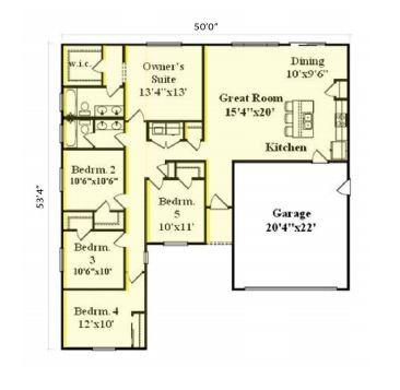 Express 1704 Floorplan