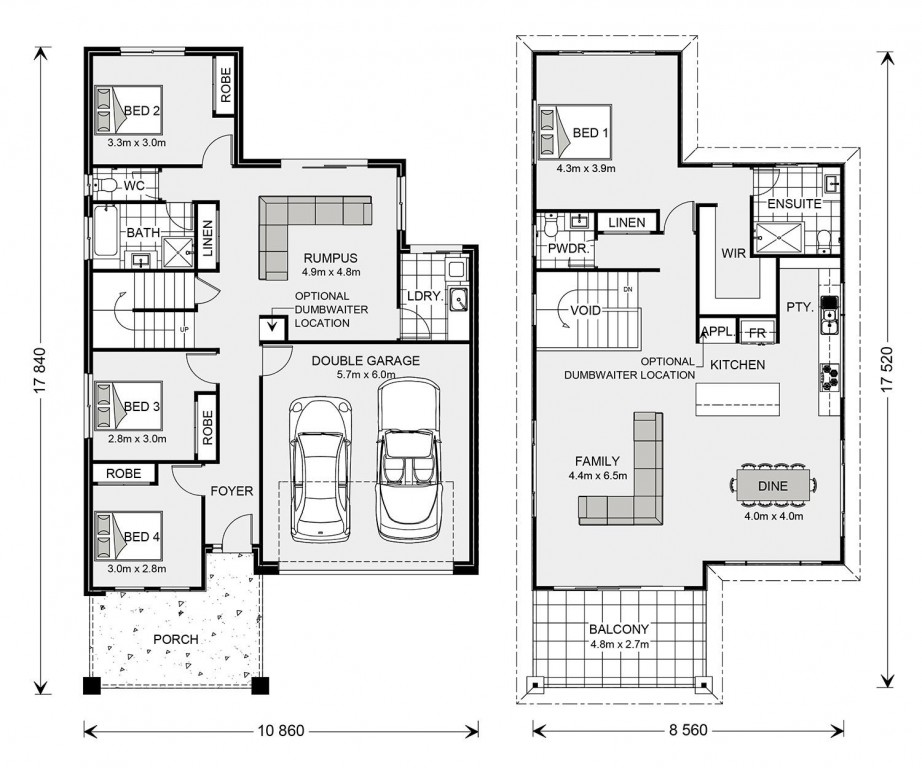 Fingal Floorplan