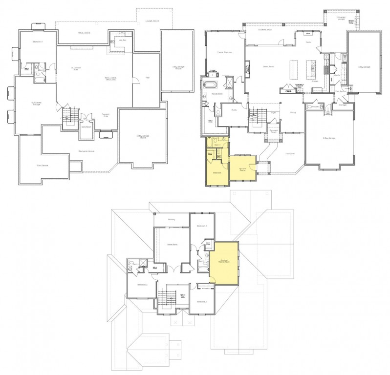 3,000SF & Up Floorplan