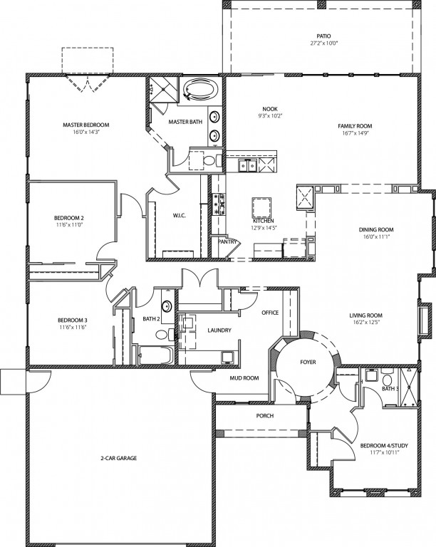 The Christina 2557 Floorplan
