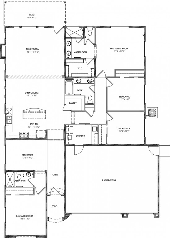 The Mia 2310 Floorplan