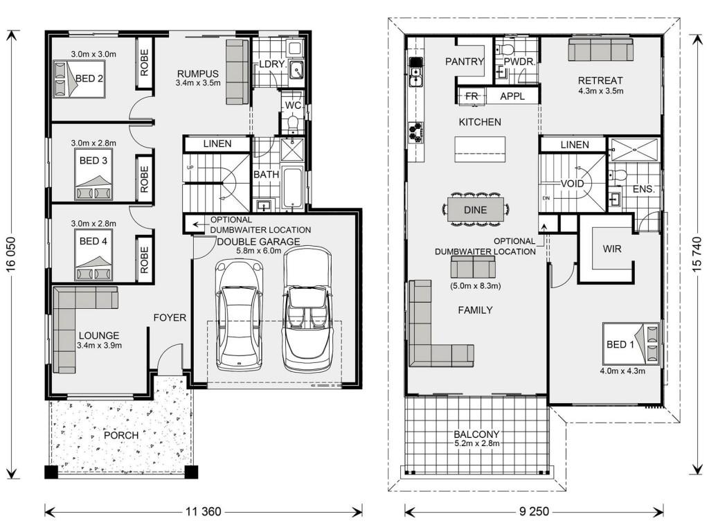 Bermagui 286 Floorplan