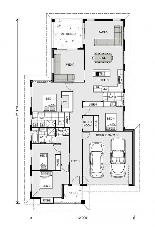 Hawkesbury 210 Floorplan