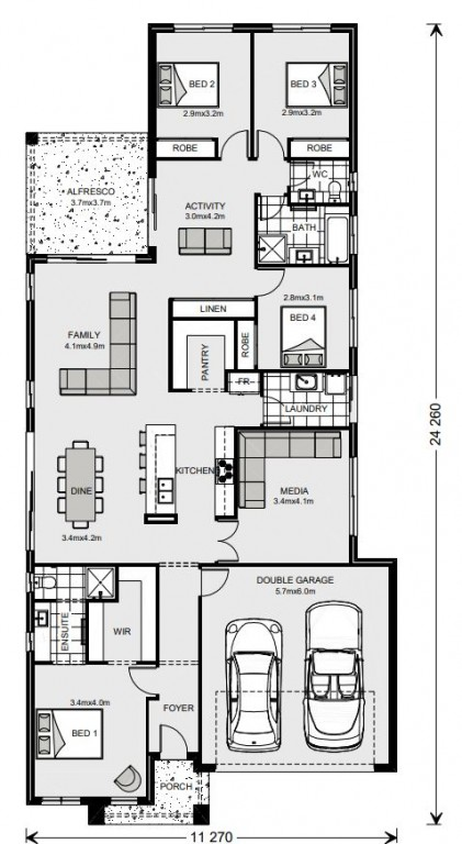 Benowa 230 Floorplan