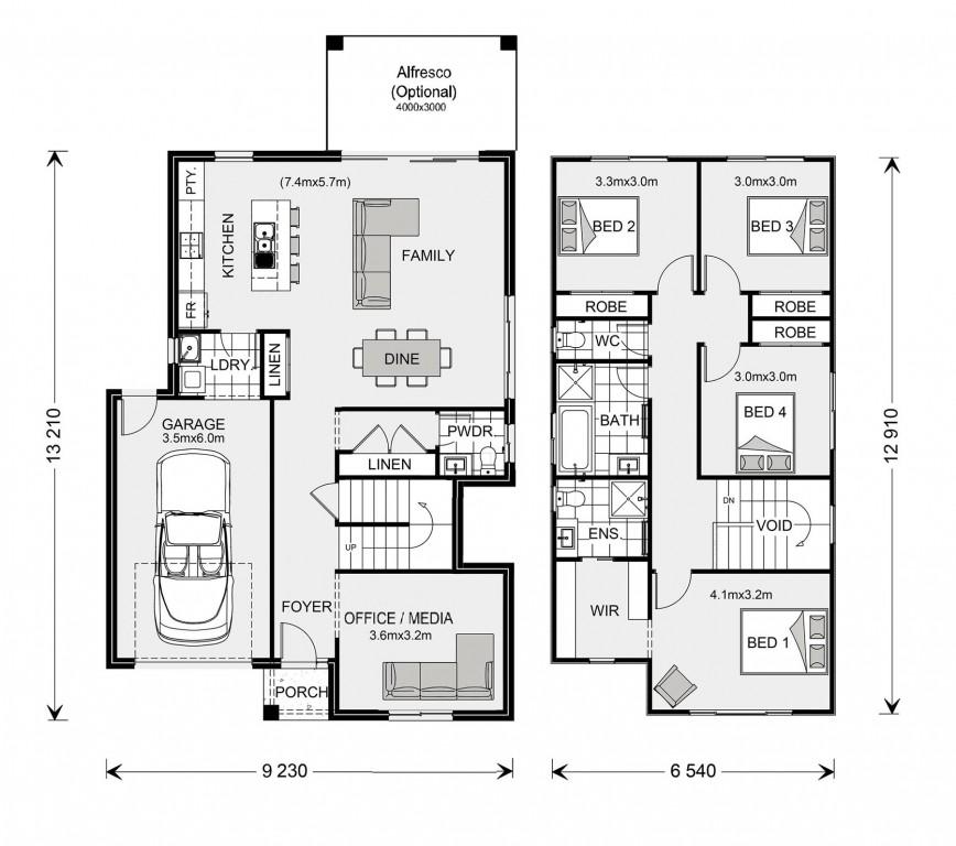 Curlewis 149 Floorplan