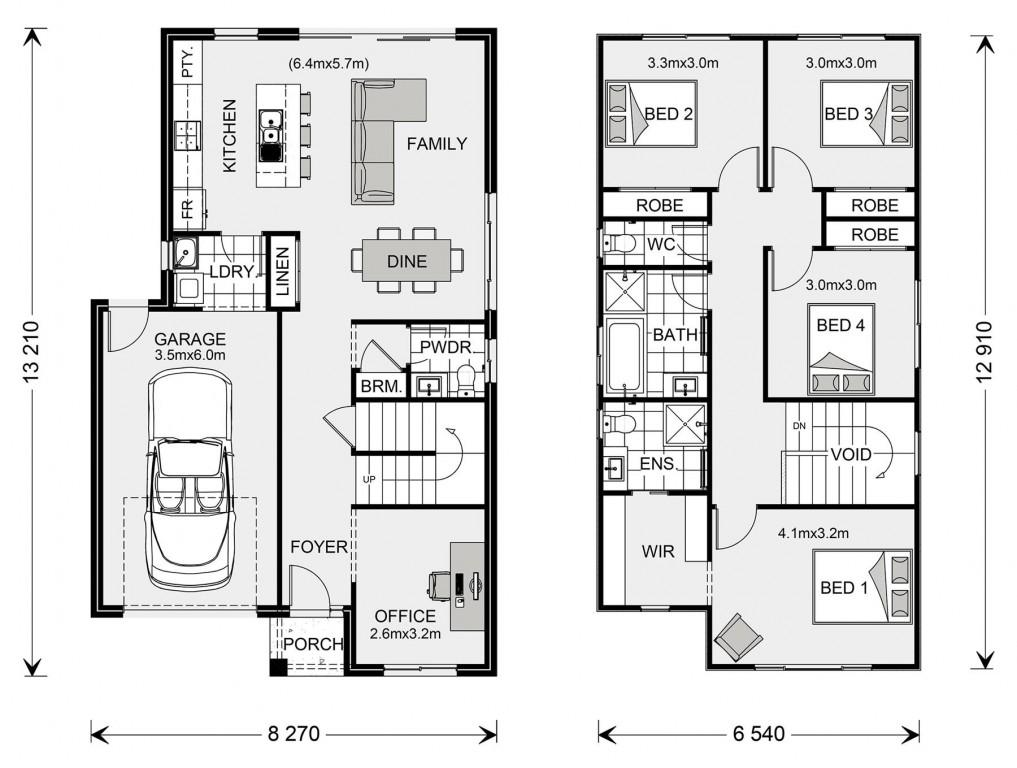 Seacrest 214 Floorplan