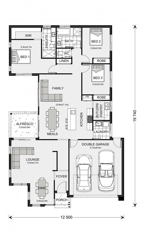 Northside 208 Floorplan