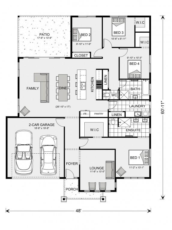 Glenview 1887 Floorplan