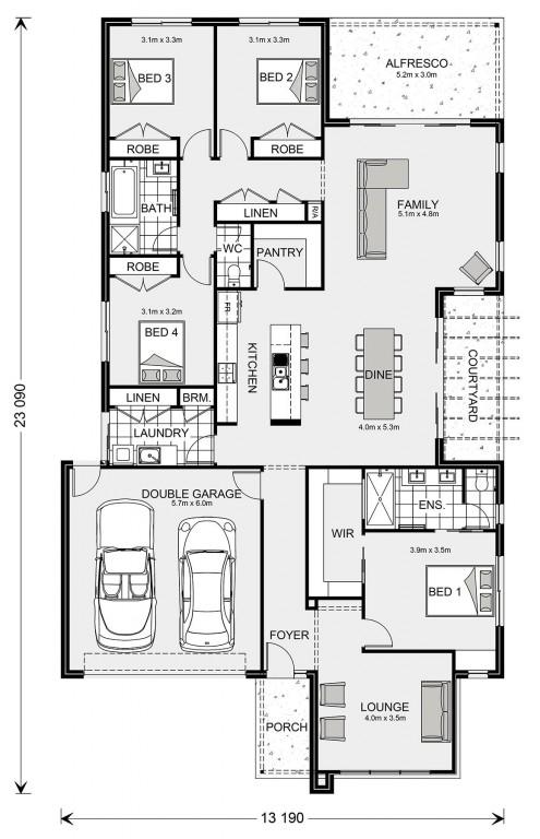 Blackwood 262 Floorplan