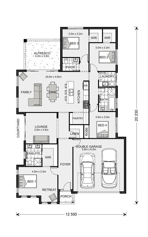 Long Bay 220 Floorplan