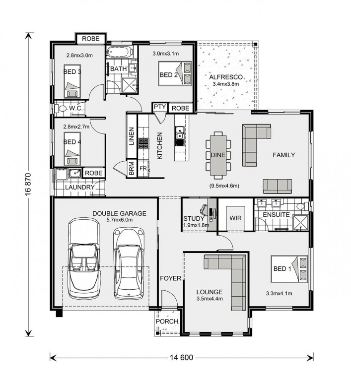 Fernbank 216 Floorplan