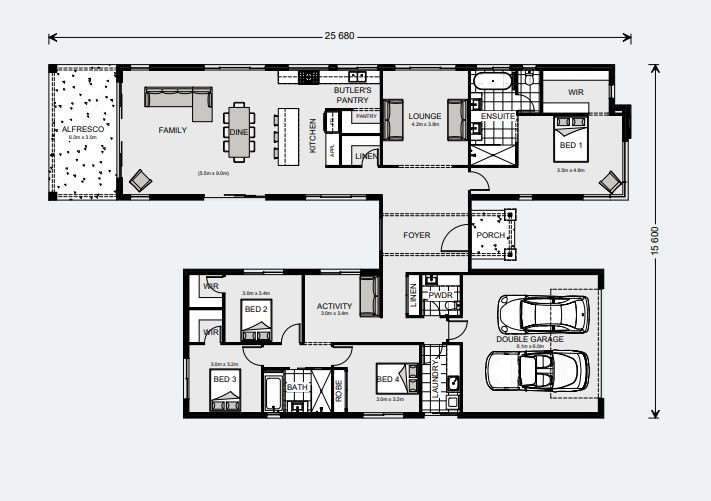 Oakford 290 Floorplan