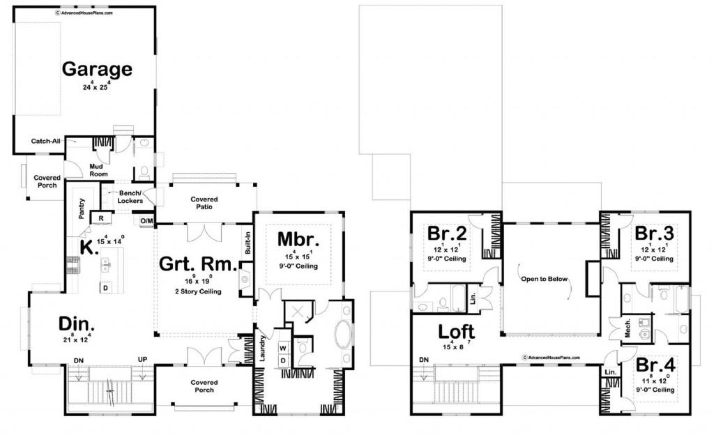 Savannah 2997 Floorplan