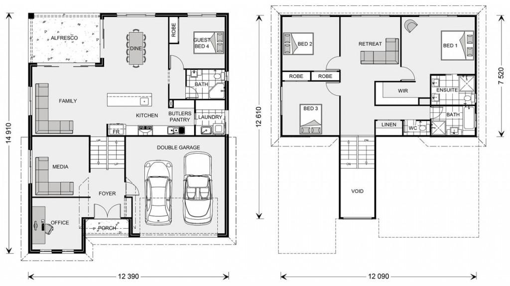 Laguna SL 278 Floorplan