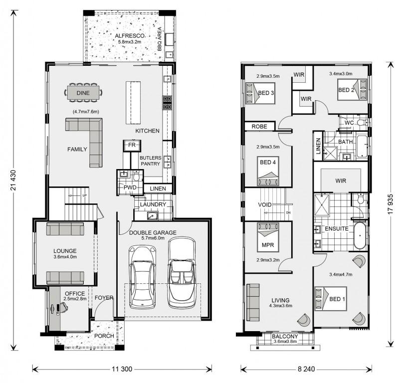Kingscliff 320 Floorplan