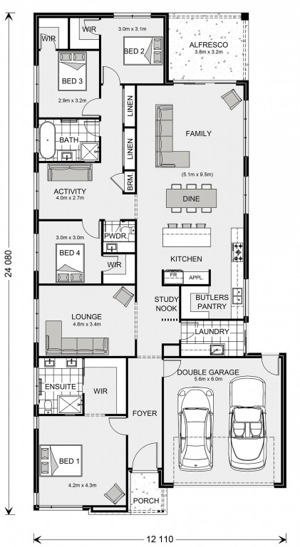 Fairhaven 254 Display Floorplan
