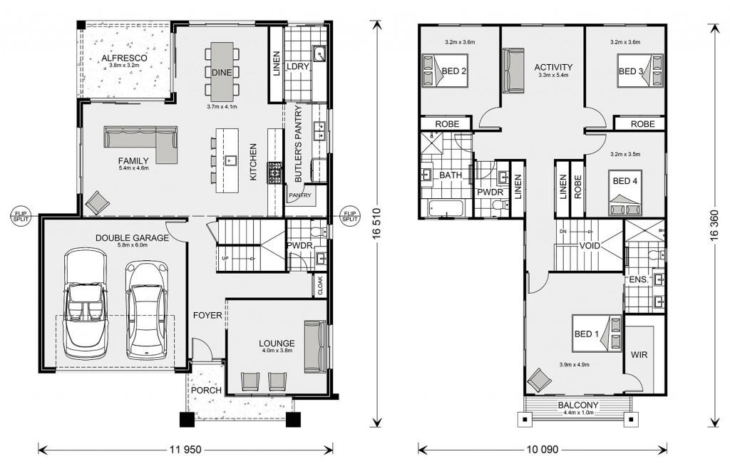 Kingston 295 Floorplan