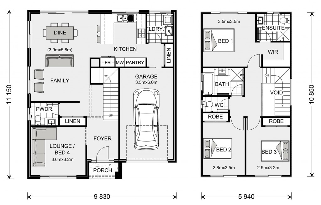 Cranbourne 170 Floorplan