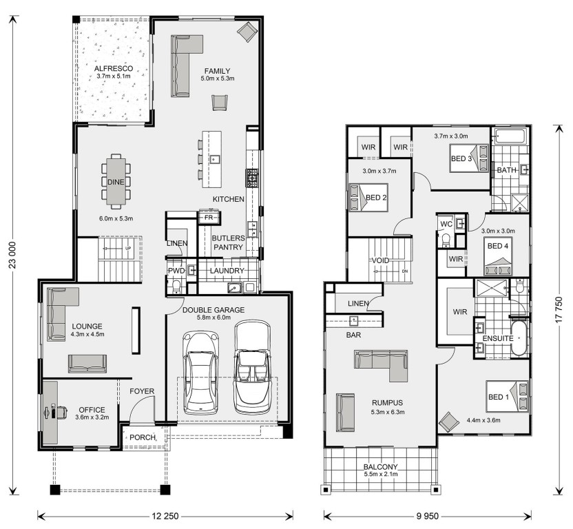 Seaview 365 Floorplan