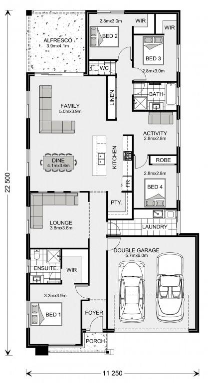 Bridgewater 225 Floorplan
