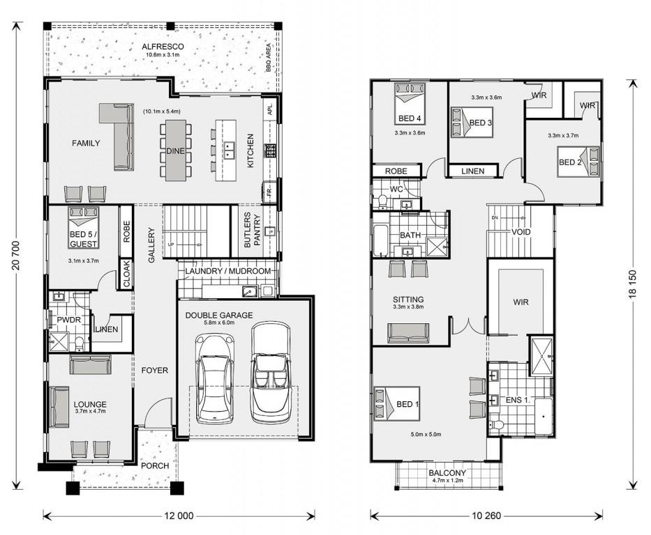 Freshwater 370 Floorplan