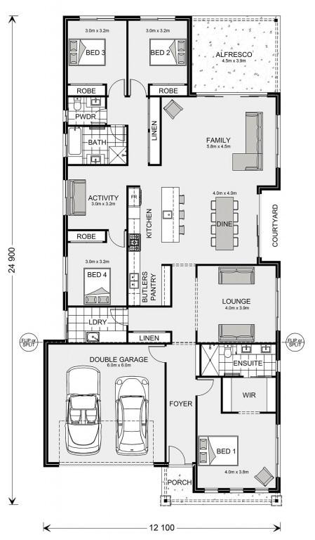 Banksia 270 Floorplan