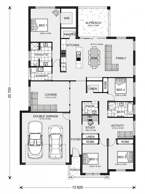 Forest Park 249 Floorplan