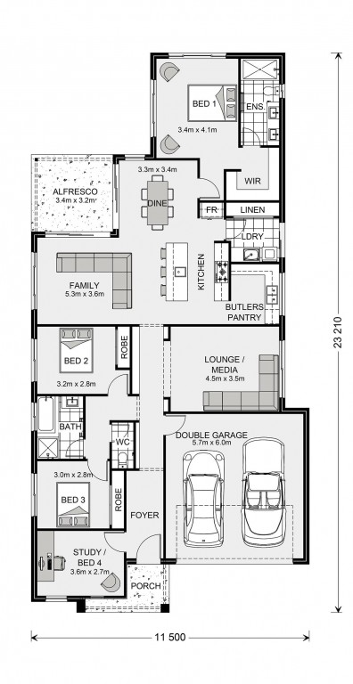 Edgewater 219 Floorplan