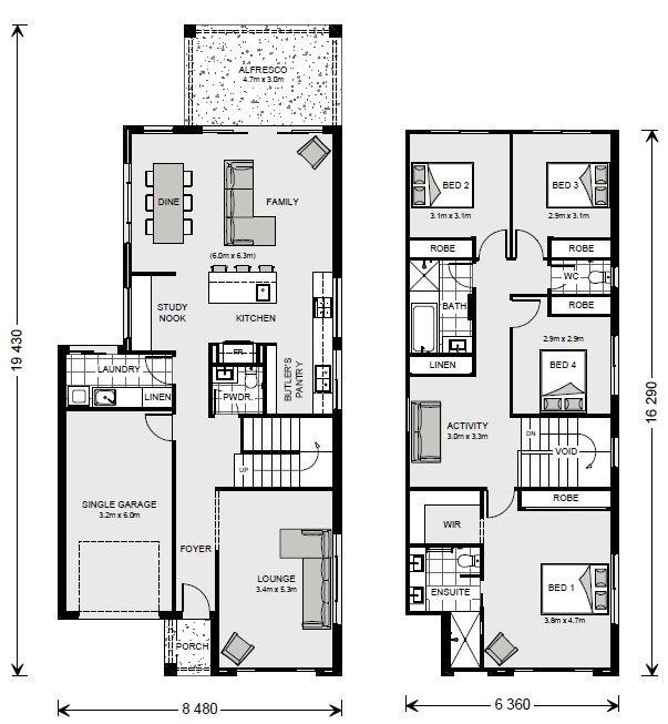 Fairfield 237 Floorplan