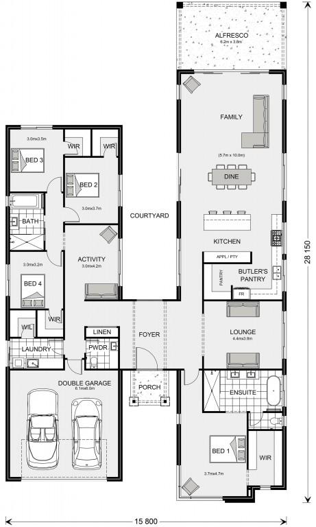 Oakford 308 Floorplan