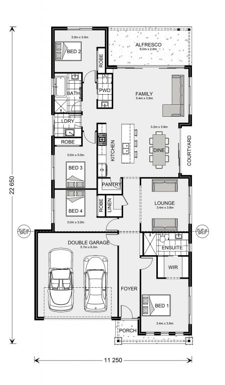 Banksia 225 Floorplan