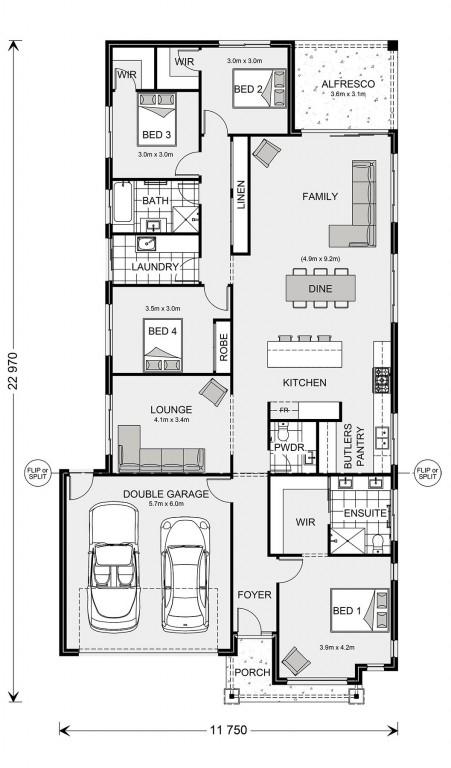 Fairhaven 235 Floorplan