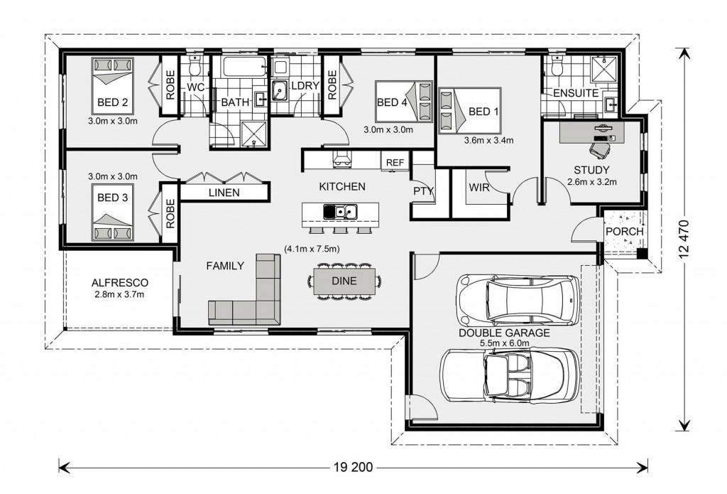 Woodridge 195 Floorplan