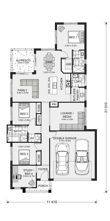 Edgewater 190 Floorplan
