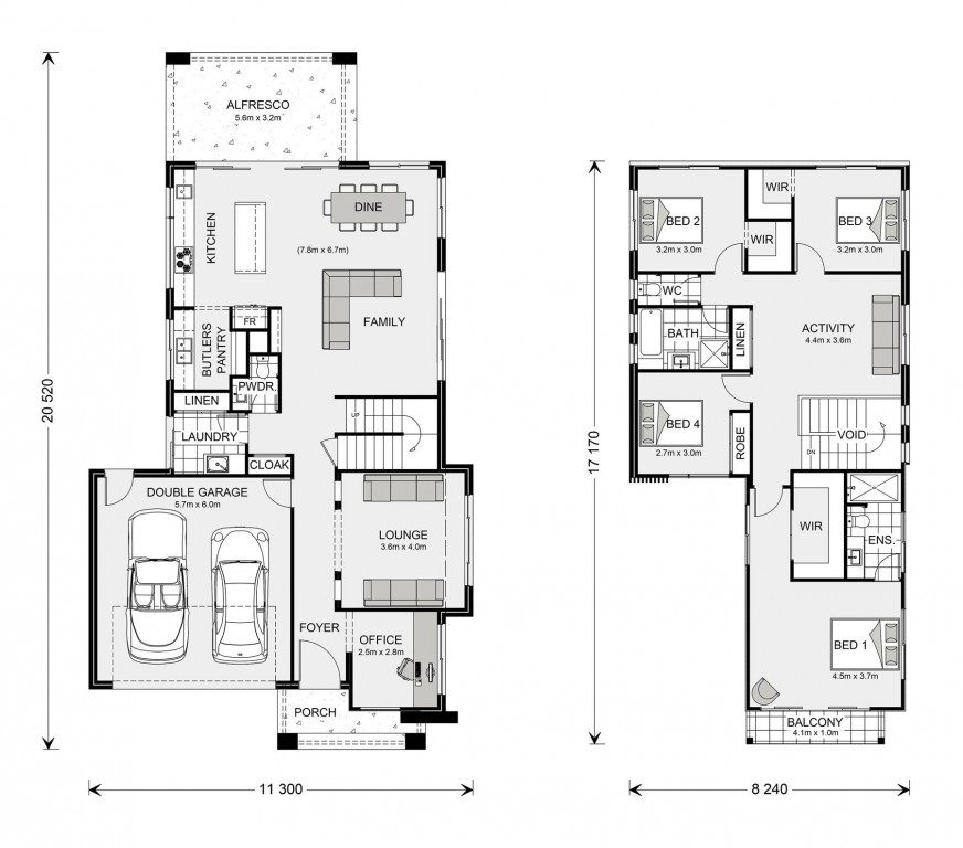 Kingscliff 285 Floorplan