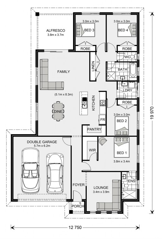 Woodridge 216 Floorplan