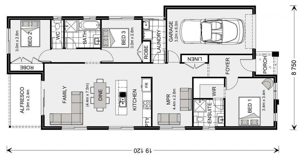 Stonehaven 153 Floorplan