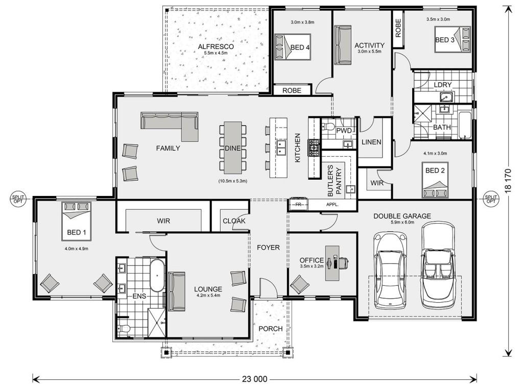 Aspen 330 Floorplan